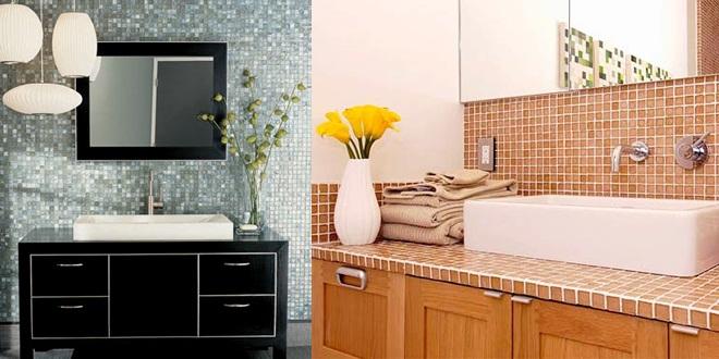 Sudati  Use e abuse de pastilhas e MDF na decoração de casa -> Banheiros Decorados Com Pastilhas Fotos