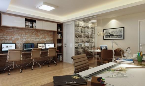 decoração-escritório-